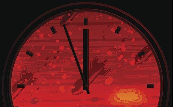 Weltuntergang Uhr