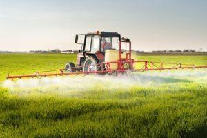 Pestizid-Einsatz