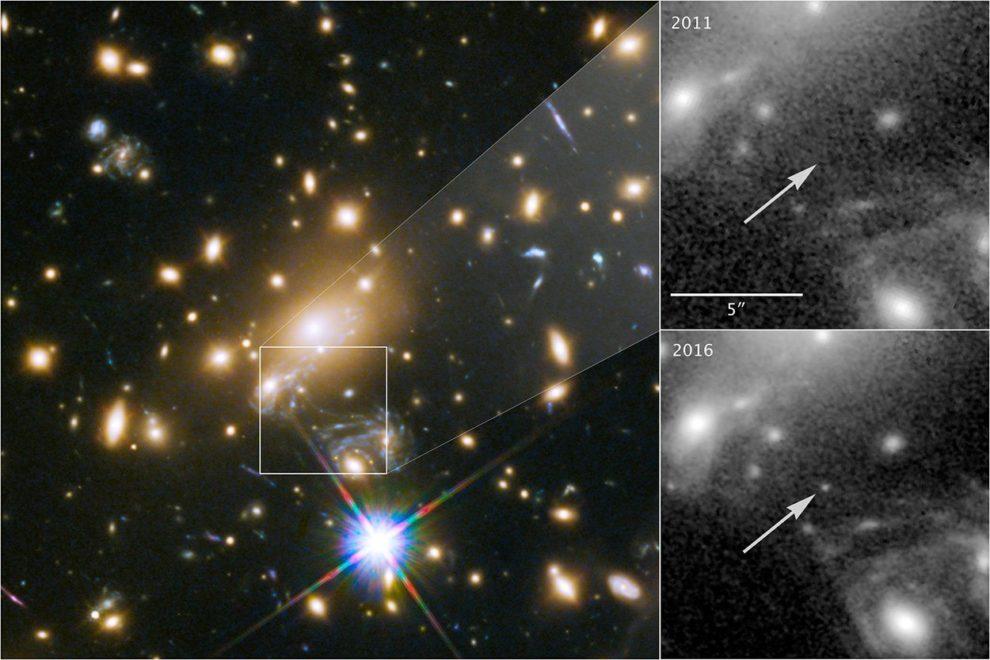 Lensed Star 1