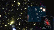Galaxie MACS1149-JD1