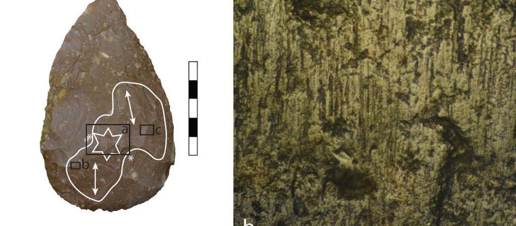 Neandertaler-Faustkeil