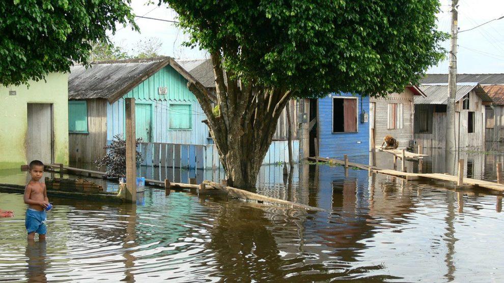 Amazonas-Hochwasser