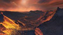 Oberfläche von Barnard's Star b