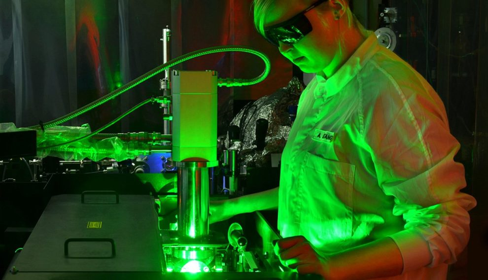 Laseranlage