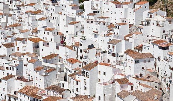 Weiße Häuser