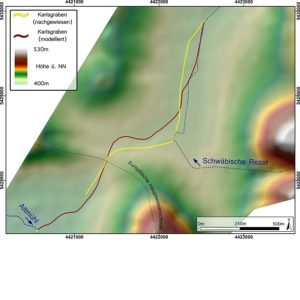 Karlsgraben Trasse