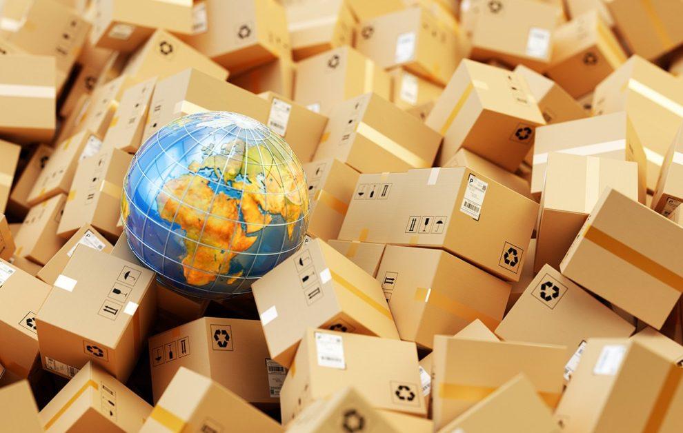 Paketstapel