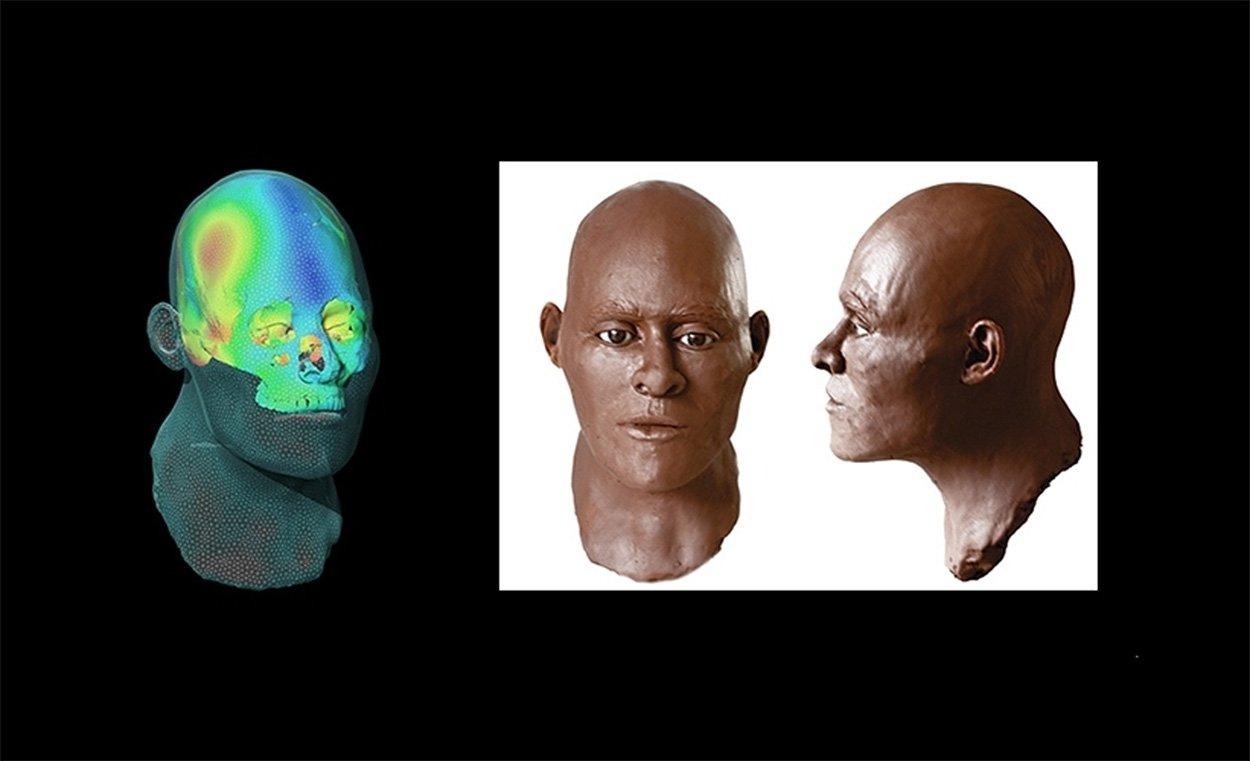 Urzeitliche Südamerikanerin bekommt ein neues Gesicht