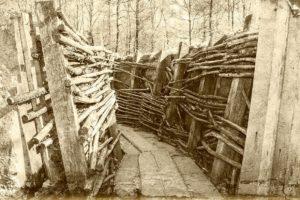 Schützengraben in Flandern