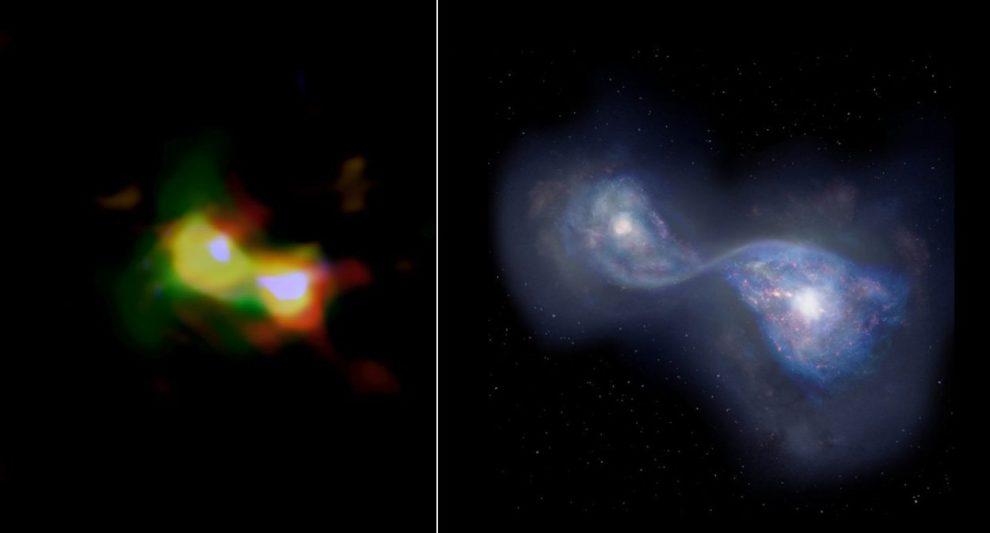Galaxienverschmelzung