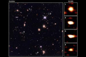 frühe Galaxien