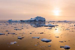 Schmelzende Eisberge