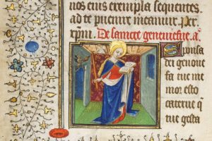 mittelalterliches Stundenbuch