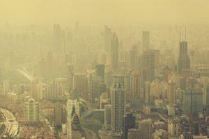 Shanghai im Smog