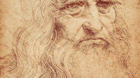 3566030_Self-portrait_of_Leonardo_da_Vinci;_celebrated_drawing_by_the_Master._Biblioteca_Reale,_Turin_by_Vinci,_Leonardo_da_(1452-1519);_Biblioteca_Reale,_Turin,_Piedmont,_Italy;_(add.info.:_Note:_Fac-Simile_preserved_in_the_Biblioteca_della_Stamperia_d\'