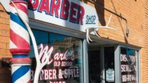 Western_Themed_Barber_Shop_Facade,_Spearfish,_Black_Hills,_South_Dakota,USA
