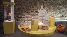 Sonder-_Ausstellung_Warenwege_-_Warenflüsse____im_Römermuseum_Xanten_Eingangsbereich_zur_Ausstellung