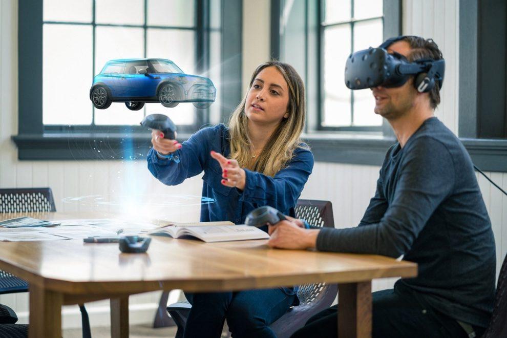 VR-Brille als Designhilfe