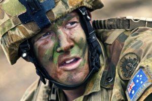 Britischer Soldat